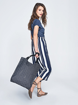 Torba shopper czarna